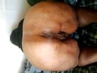 Woman anus size - Black woman winking anus and showing sweet muscle control