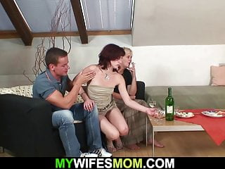 Free sex with mothwer in law - Taboo sex with his very old mother-in-law
