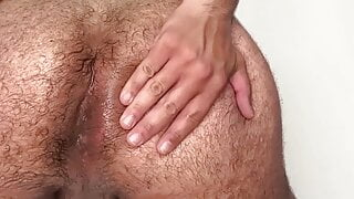 farting and gaping asshole for stepdaddy