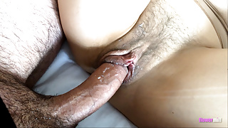 Messy Pantyhosed Pussy Fuck