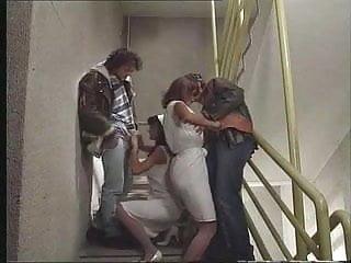 Dark patches penis head Nurses anita blonde anita dark give head on stairs