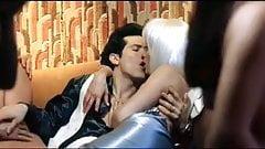 Mira Sorvino get fucked in an orgy