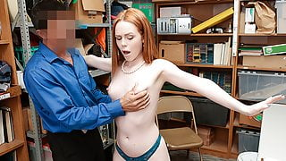ShopLyfter - Redhead Teen Trades Sex for No Arrest