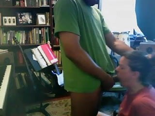 Choke her and fuck her - Choking and cumming in her mouth