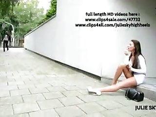 Best high heel thumbnail porn Best of julie skyhigh high heels, miniskirt hooking public