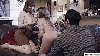 Babysitter Gabbie Carter finds herself between a couple