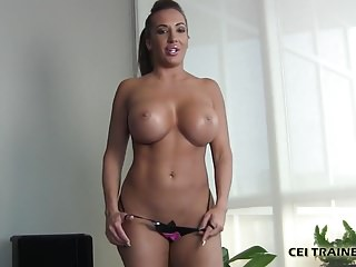 Make your own adult website It makes me so horny when you eat your own cum cei