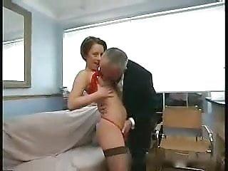 Gay man perm hair Old man and naughty short hair girl
