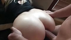 Amateur hot ass blonde anal pov doggystyle