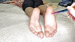 #StayHome and Jerk off on my FEET