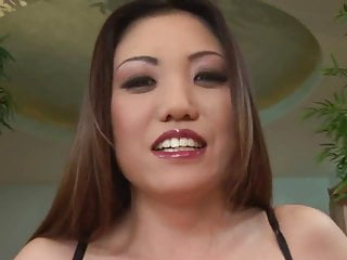 Lesbian talked into taking dick - Asian takes a big dick