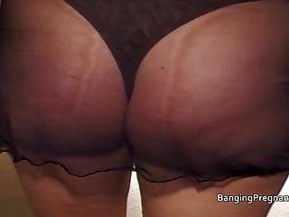 Horny pregnant slut Two workmen get to fuck a horny pregnant woman