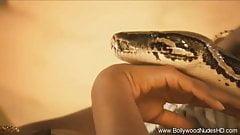 Serpent Rising: Indian Babe Dances Exotic