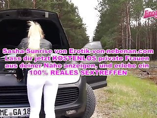 How teen have car accidents Exploit at car accident - german bitch must fuck outdoor