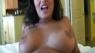 Holiday session from amateur slut