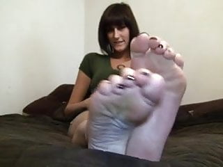 Irene montala naked Irene shows her big sexy size 11 soles