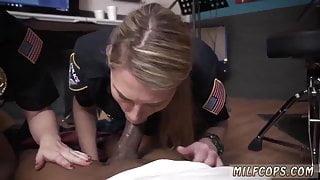Girl milf blowjob Raw flick seizes cop ravaging a