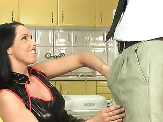 S for sexy - Dentist stud cant resist sexy brunettes tits and pussy