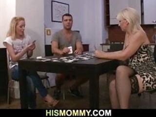 Free lesbian strip poker - Strip poker leads to dildo fucking