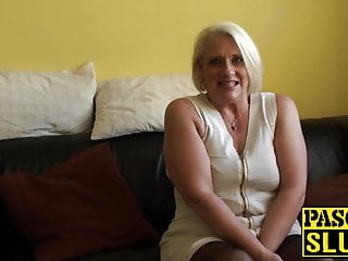 Domination and submisson Blonde gilf carol throated before anal domination and facial