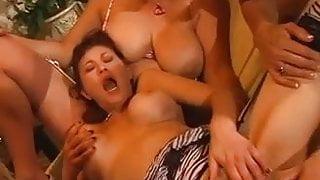 Dirty Talking Milf Orgy