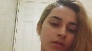 Turkish girl strips