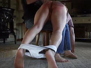Naughty boys spanked masturbating Fm - how she deals with a naughty boy