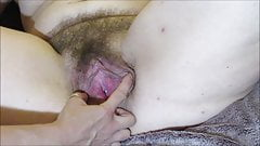 Ping Pong Balls Stuffed in Hairy Pussy Makes Her Cunt Squirt