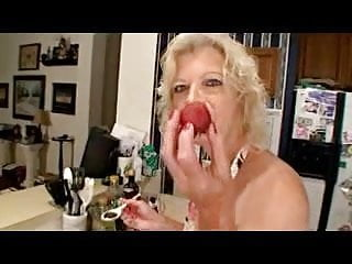 Mature kitchen sex movies Granny kitchen queen