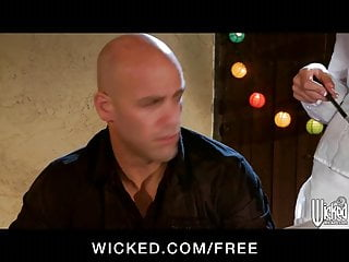 Wicked teens Wicked - blonde teen waitress molly bennett fucks a customer