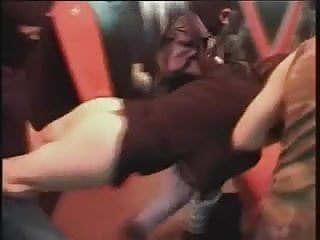 Guy spanks busty girl German girl rough fucked by 3 guys