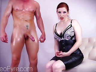 Gay sissy forced into prostitution - Service my stud -lady fyre forced bi femdom