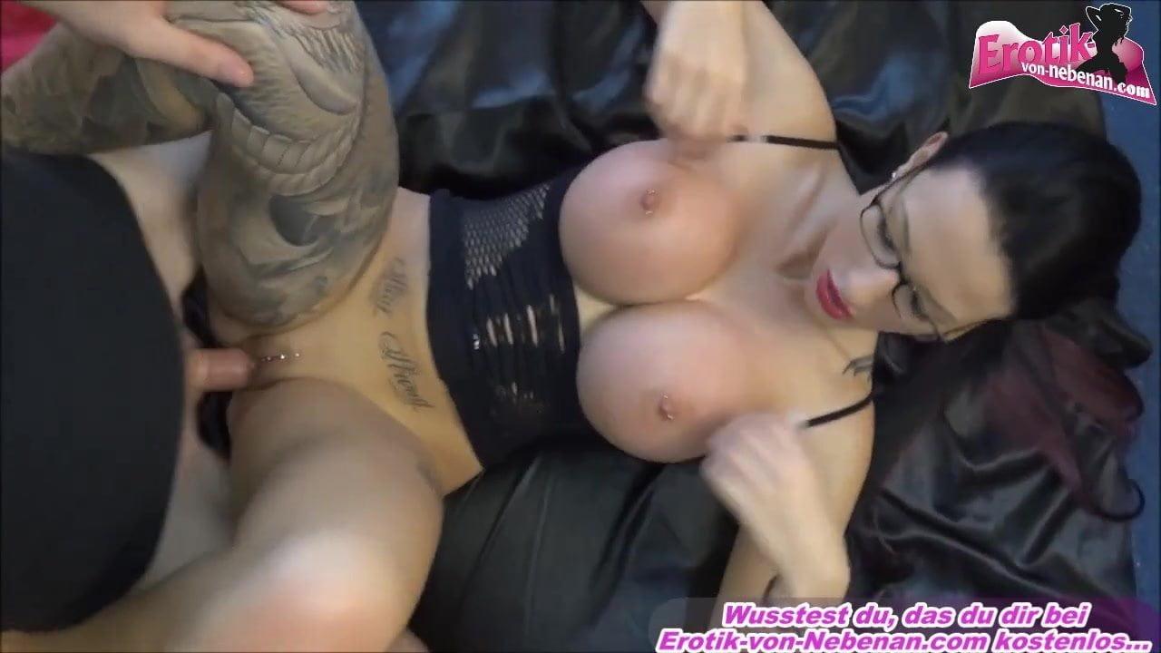 Big Tits Tattoo Brunette