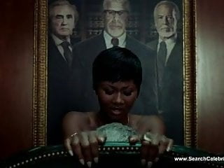 Black female celebrity nude - Emayatzy e. corinealdi nude - hand of god s01e01