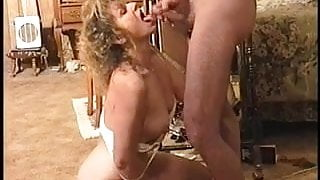 She cums with a cock down her throat