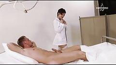 Penis checkup with German nurse Black Lady, upscaled to 4K