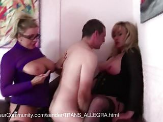 Rez trans vibrator - Trans allegra fickt ihren sklaven
