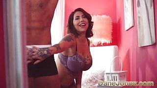 Dane Jones Tattooed MILF Heidi Van Horny sloppy deepthroat
