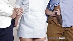 PrivateBlack - Sensual Maid Taylor Sands In Interracial DP!