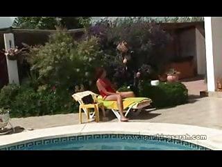 Beach photo shower spain voyeur web Sarah hard spanking, spain