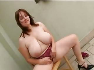 Breast sucking actress Big breasted bbw sucks and fucks hard cock