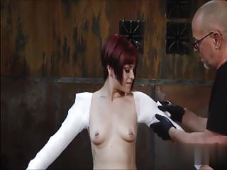 Erotic bondage plaster cast body Full body cast