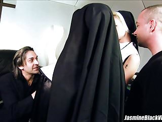 Sex orgie with women fuckng men - Jasmine black and tarra white fuck 2 men in fourway sinners
