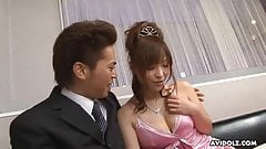 Japanese fuck doll, Yui Ayana got a cumshot, uncensored