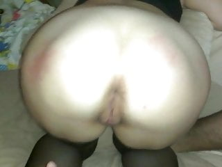 Pussy slaped My wife ass slaping and fingering