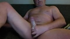 Old man daddy cum on cam 80