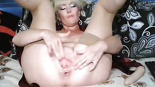 Russian Mature Madam with stretched holes