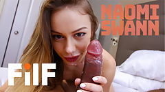 FILF - Naomi Swann Fucks Her Big Dicked Stepdad