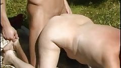 Russian mother-in-law and husband of her daughter! Amateur!