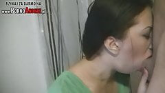 Polish teen blowjob and deepthroat